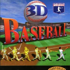 3D Baseball is listed (or ranked) 9 on the list PlayStation 1 Games