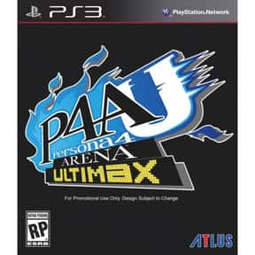 Persona 4 Arena Ultimax is listed (or ranked) 25 on the list The Best Xbox 360 Fighting Games of All Time