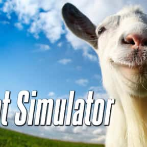 Goat Simulator is listed (or ranked) 9 on the list The Best PlayStation 4 Simulation Games