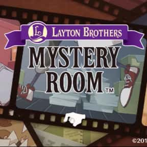 Layton Brothers: Mystery Room is listed (or ranked) 9 on the list The Best Professor Layton Games