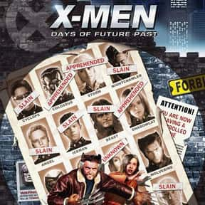 X-Men: Days of Future Past is listed (or ranked) 14 on the list The Greatest Graphic Novels and Collected Editions