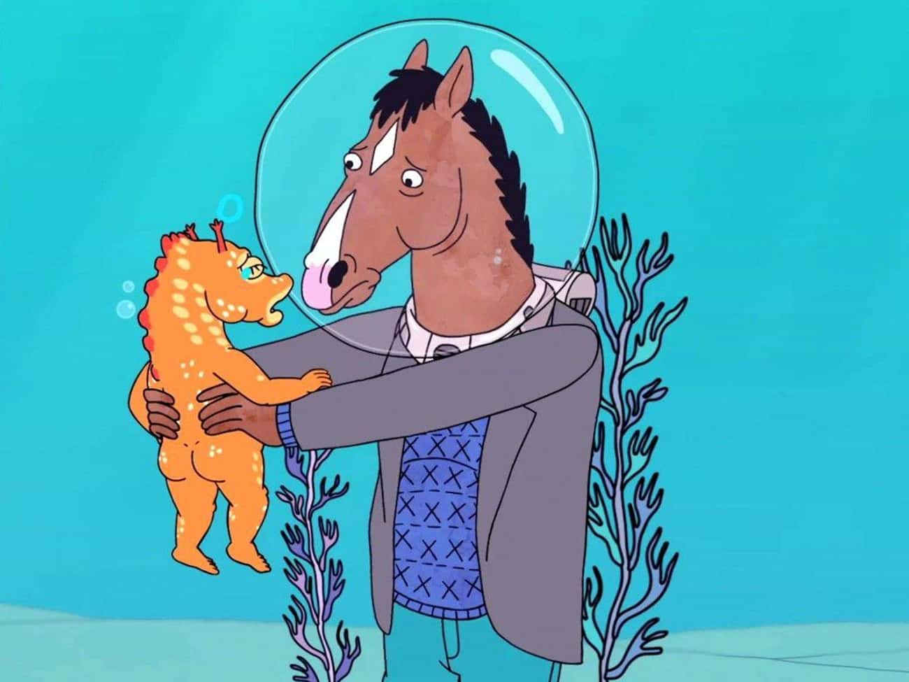 BoJack Horseman is listed (or ranked) 2 on the list The Best Adult Animated Shows On Netflix
