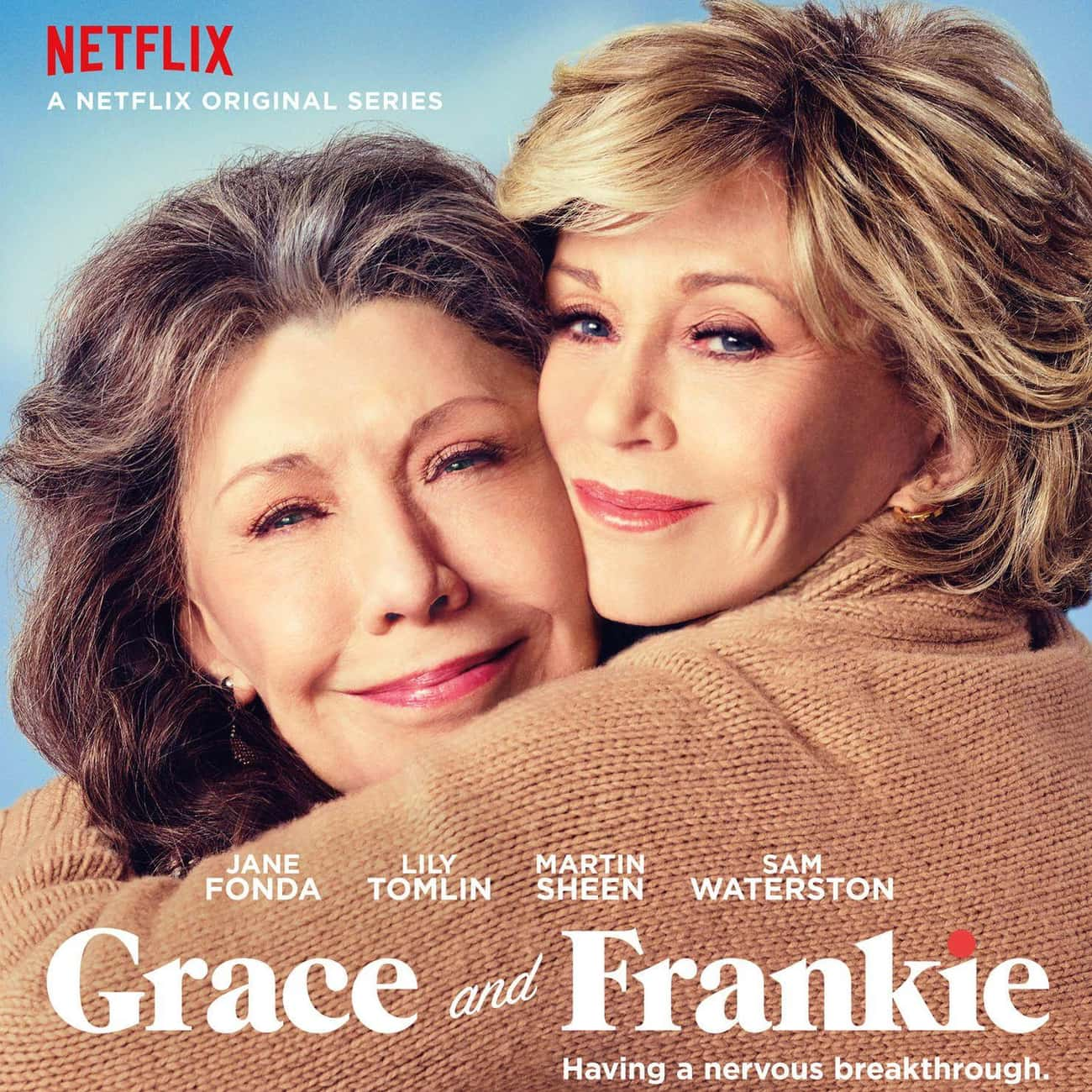 Grace and Frankie is listed (or ranked) 3 on the list The Greatest TV Shows About Retirement