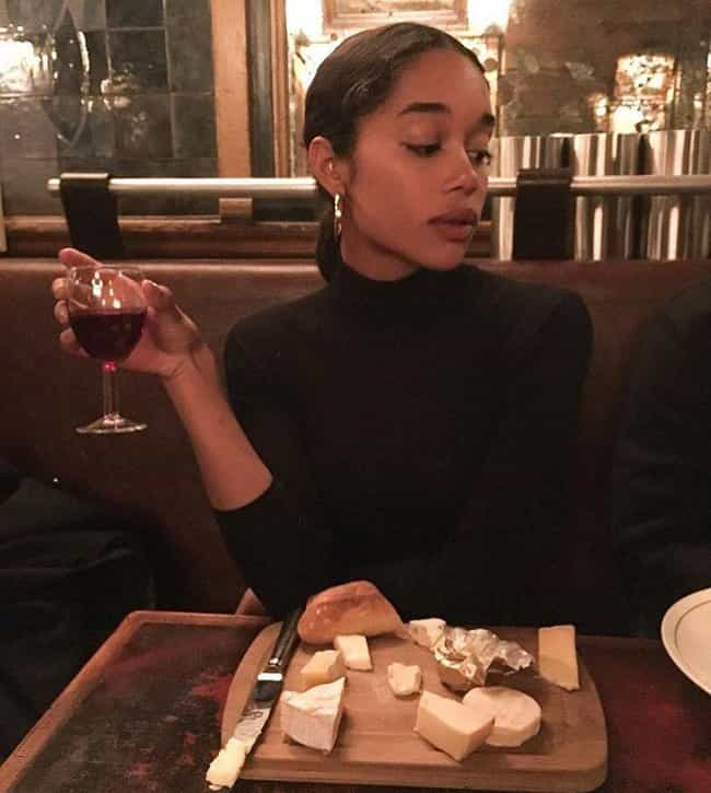 Laura Harrier is listed (or ranked) 3 on the list The Many Celebrity Exes Of Justin Theroux