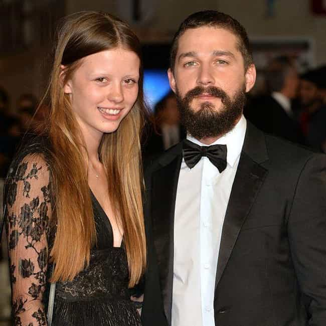 Mia Goth is listed (or ranked) 2 on the list Shia Labeouf's Loves & Hookups