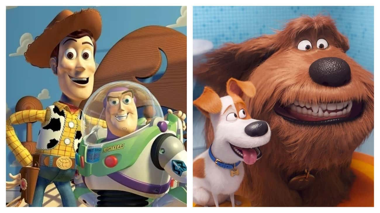 'The Secret Life of Pets' Just is listed (or ranked) 3 on the list Movies That Basically Have The Same Plot
