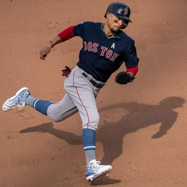 Mookie Betts is listed (or ranked) 1 on the list The Best Black Baseball Players Right Now