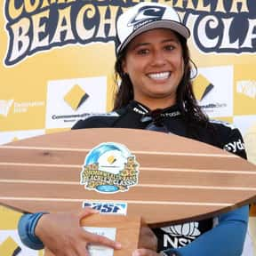 Malia Manuel is listed (or ranked) 15 on the list The Best Surfers In The World Right Now