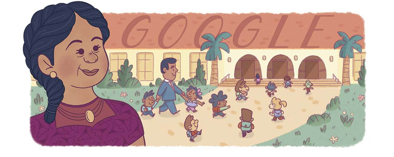 Felicitas Mendez is listed (or ranked) 1242 on the list Every Person Who Has Been Immortalized in a Google Doodle
