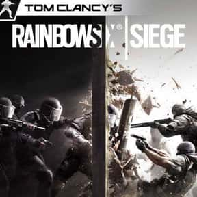 Tom Clancy's Rainbow Six Siege is listed (or ranked) 1 on the list The Most Popular Shooter Video Games Right Now