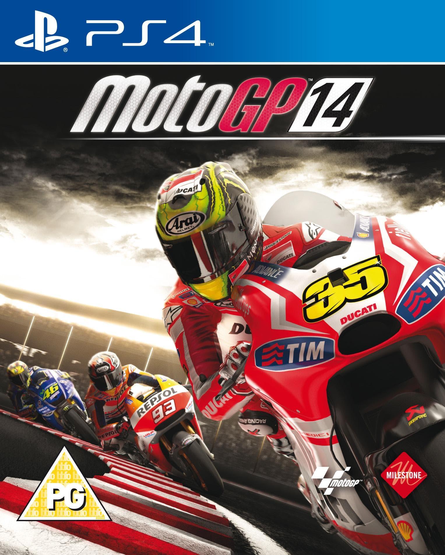 MotoGP 14 on Random Best PS4 Racing Games