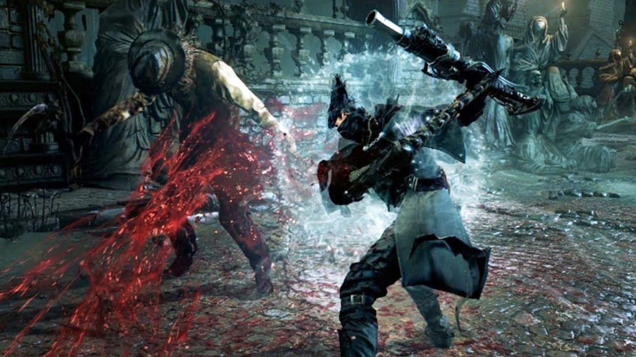 Bloodborne is listed (or ranked) 2 on the list 15 PS4 Games That Are So Hard They'll Make You Want To Chuck Your Controller