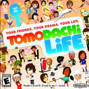 Tomodachi Life is listed (or ranked) 18 on the list The Best Nintendo 3DS Games of All Time, Ranked by Fans