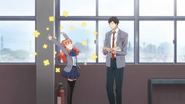 Monthly Girls' Nozaki-ku... is listed (or ranked) 4 on the list The 15 Best Anime To Watch On Valentine's Day