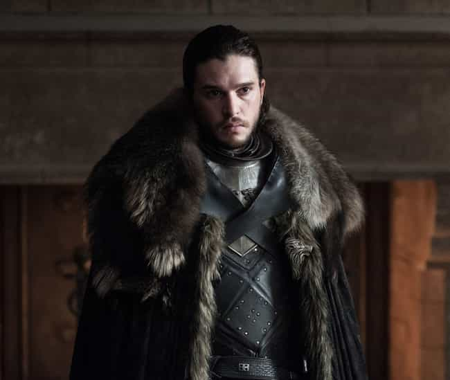 Jon Snow is listed (or ranked) 1 on the list Where Every 'Game of Thrones' Character Is At The Beginning Of Season 8