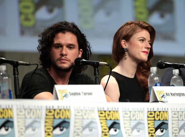 Jon Snow is listed (or ranked) 1 on the list 22 TV Couples Who Got Together In Real Life