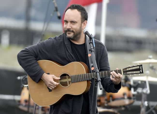 Dave Matthews is listed (or ranked) 3 on the list Famous Friends of Julia Roberts