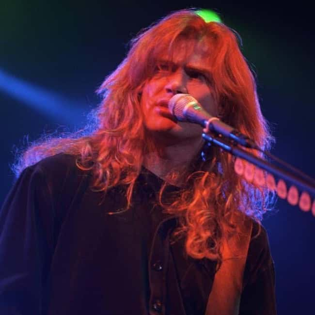Dave Mustaine is listed (or ranked) 14 on the list 30 Famous Jehovah's Witnesses