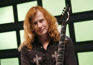 Dave Mustaine is listed (or ranked) 2 on the list Rockers Who Were Fired From Hard-Partying Bands For Partying Too Damn Hard