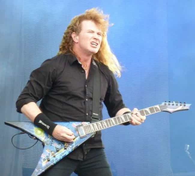 Dave Mustaine is listed (or ranked) 3 on the list You'd Never Know That These Musicians Are Intensely Religious