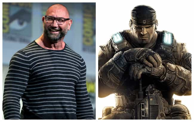 Dave Bautista is listed (or ranked) 1 on the list 10 Actors And Actresses Who Want To Play Famous Video Game Characters In Movies