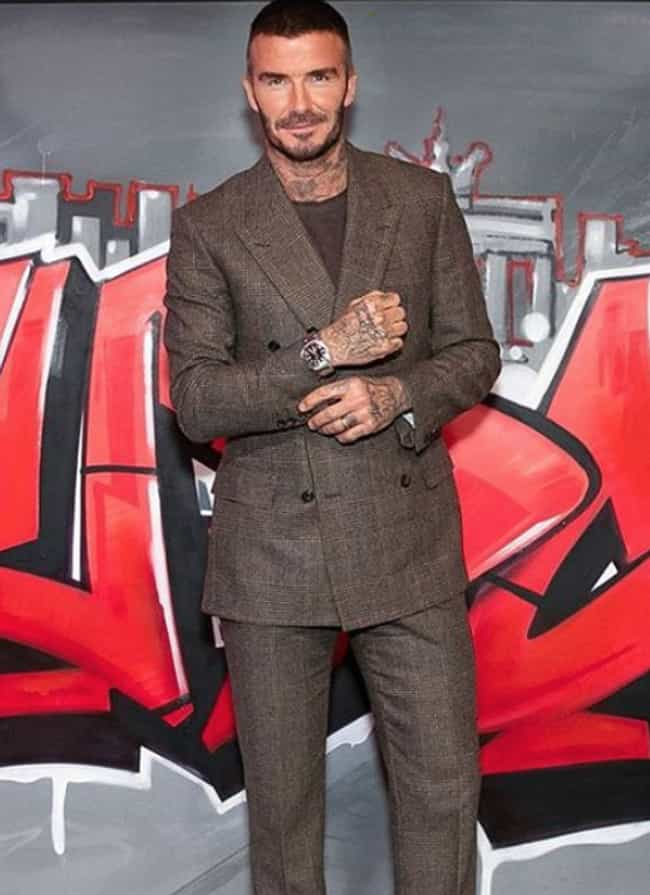 David Beckham is listed (or ranked) 3 on the list The Best Dressed Male Celebrities