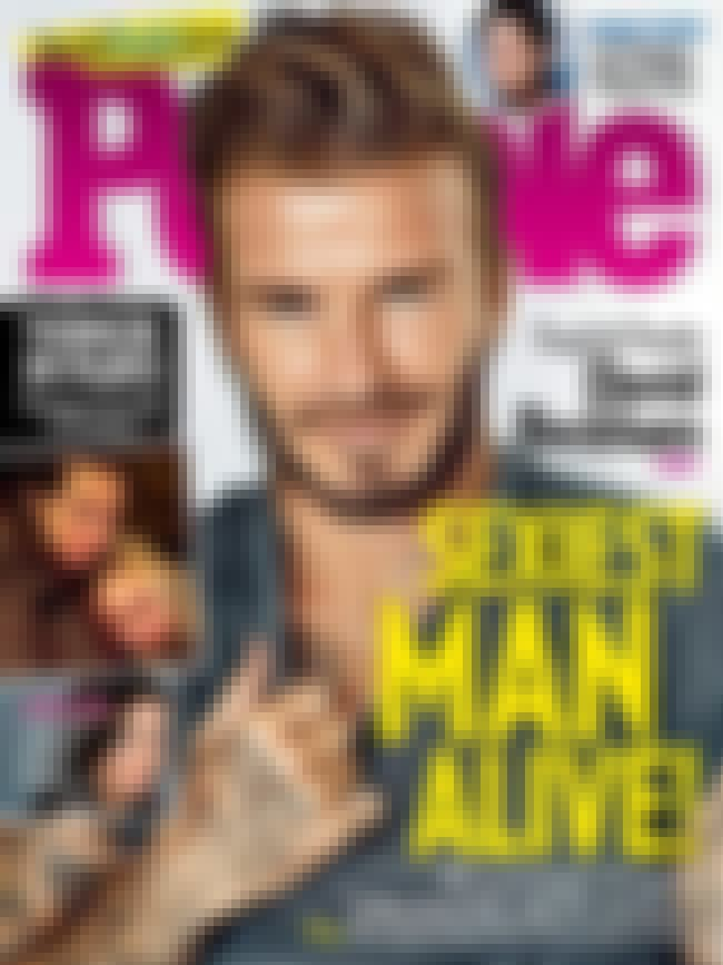 David Beckham is listed (or ranked) 3 on the list Every Cover of People's Sexiest Man Alive Issue, Ever