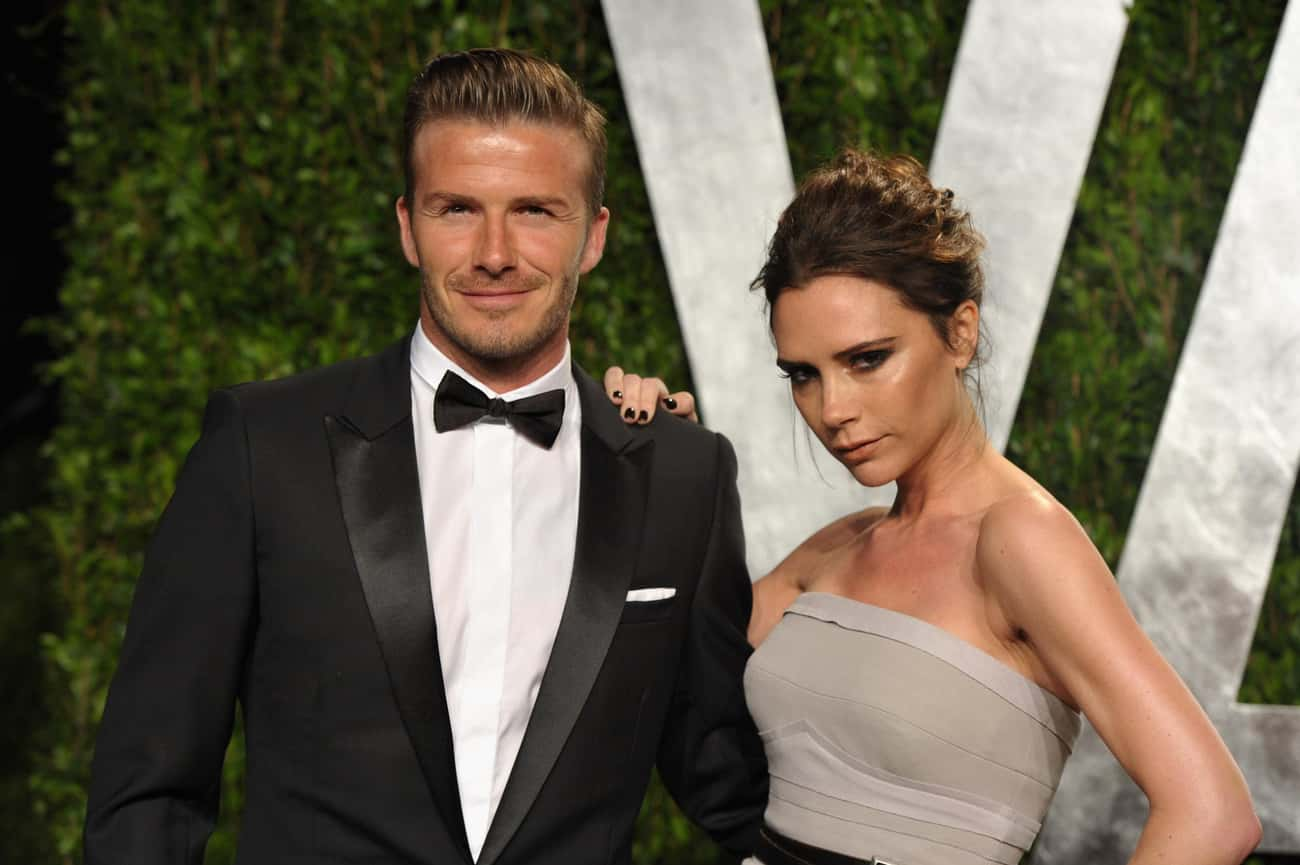 David Beckham is listed (or ranked) 3 on the list Famous Friends of Victoria Beckham