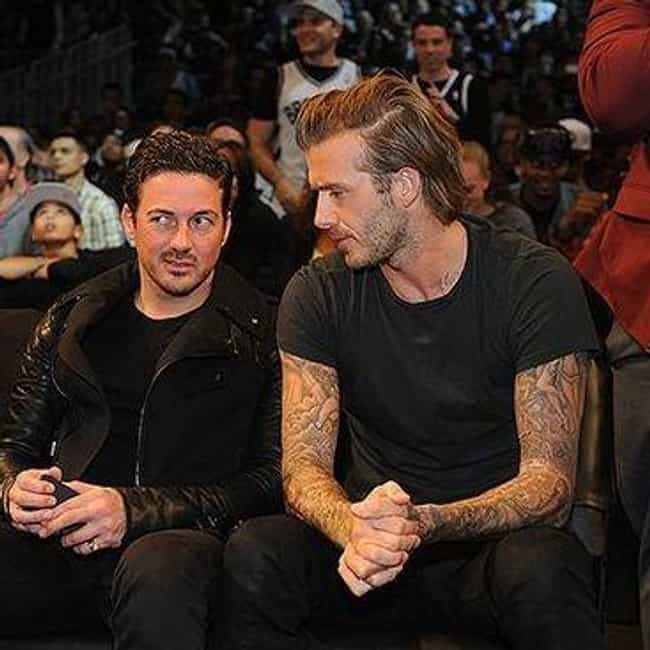 David Beckham is listed (or ranked) 5 on the list Celebrity Nets Fans
