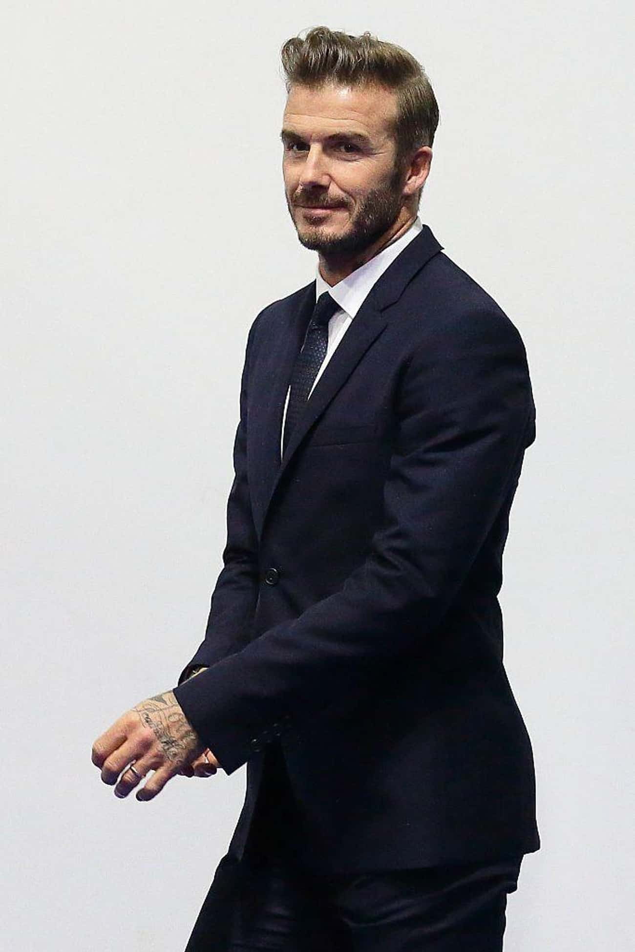 David Beckham is listed (or ranked) 4 on the list 24 Celebrities With Sleeve Tattoos