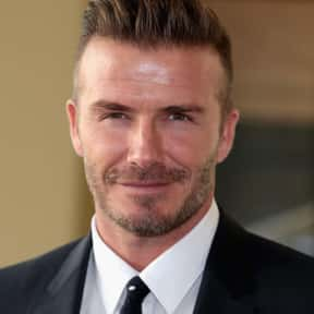 David Beckham is listed (or ranked) 2 on the list List of Famous Footballers