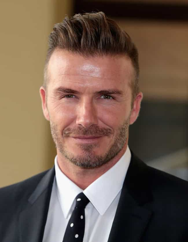 David Beckham is listed (or ranked) 3 on the list Famous Friends of Usher