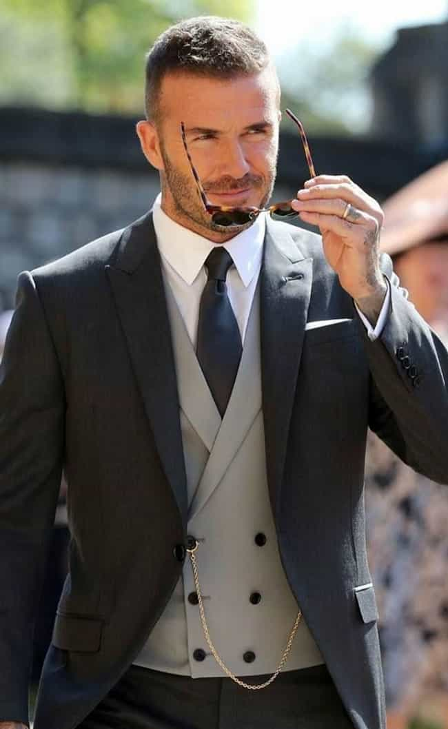 David Beckham is listed (or ranked) 7 on the list The Best Dressed Male Celebrities