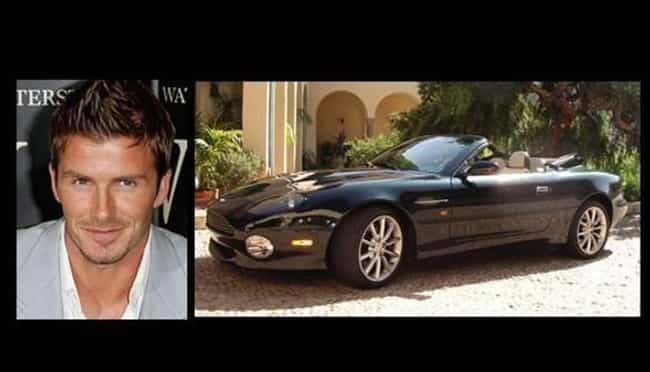 David Beckham is listed (or ranked) 4 on the list 20 Famous People Who Own Aston Martins