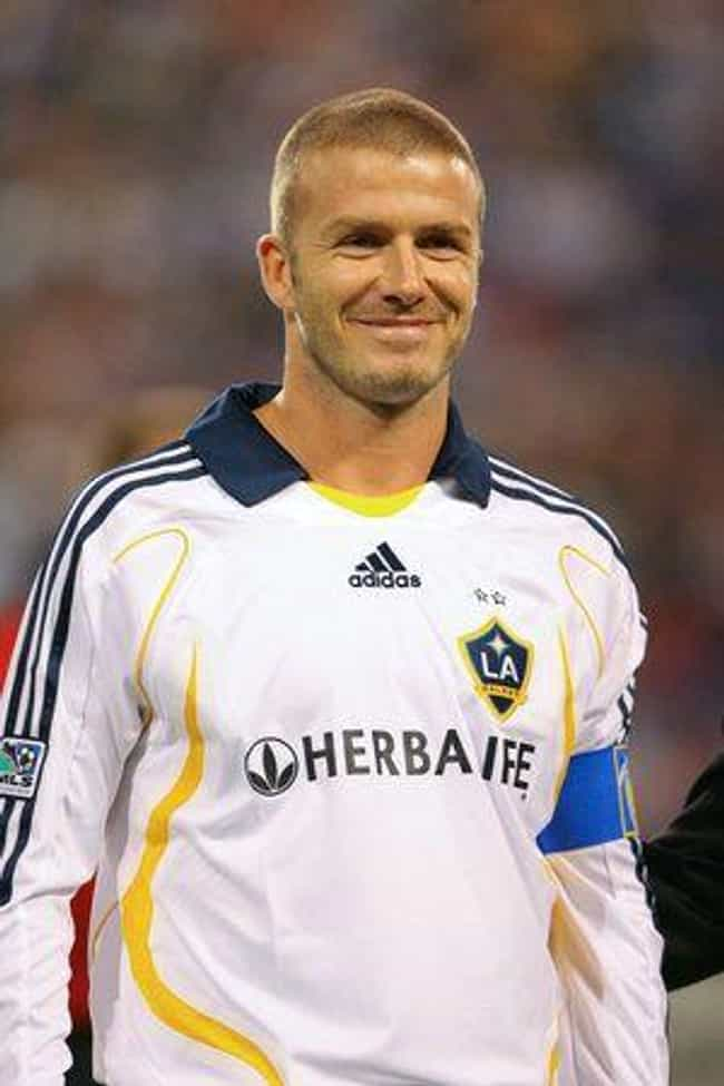 David Beckham is listed (or ranked) 7 on the list The Sexiest Sports Superstars