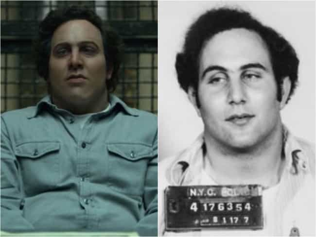 David Berkowitz is listed (or ranked) 1 on the list 'Mindhunter' Actors Vs. The Real Offenders They're Playing