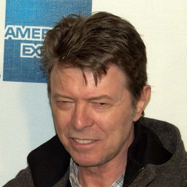 David Bowie is listed (or ranked) 3 on the list 45 Celebrities Who Dropped Out And Got Their GEDs Instead