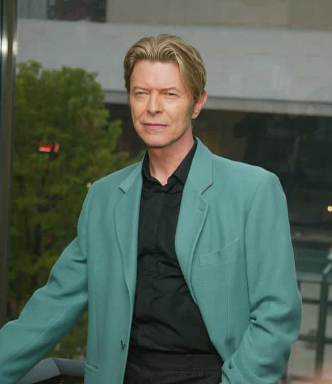 David Bowie is listed (or ranked) 2 on the list 13 Famous People Who Allegedly Practiced Black Magic