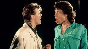 David Bowie And Mick Jagger Were Friends With Benefits