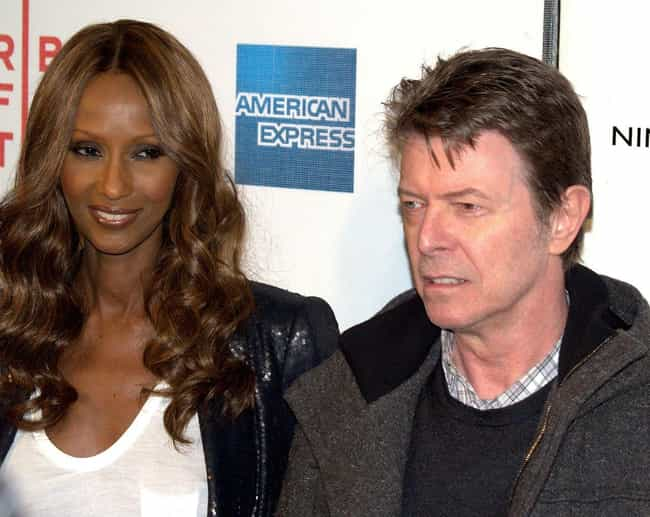 David Bowie is listed (or ranked) 4 on the list 16 Famous People in Interfaith Marriages