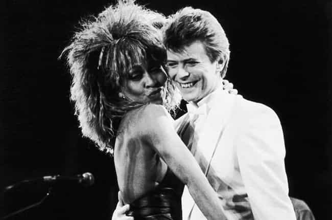 David Bowie is listed (or ranked) 4 on the list Every Man Tina Turner Has Dated