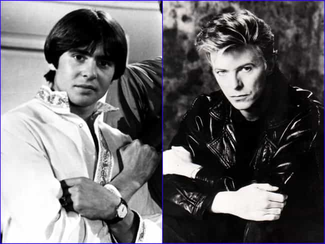 David Bowie is listed (or ranked) 2 on the list Famous People with the Same Real Name