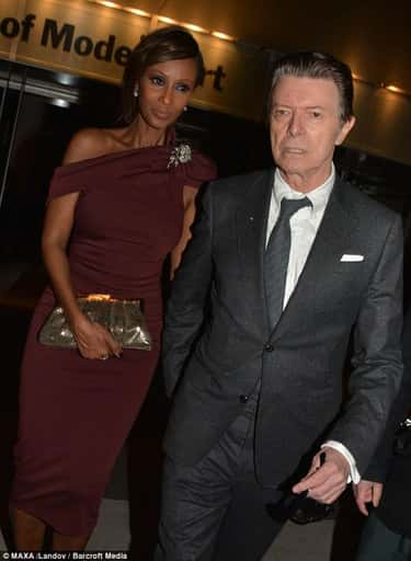 David Bowie is listed (or ranked) 1 on the list Famous White Men Who Have Been Married To Black Women