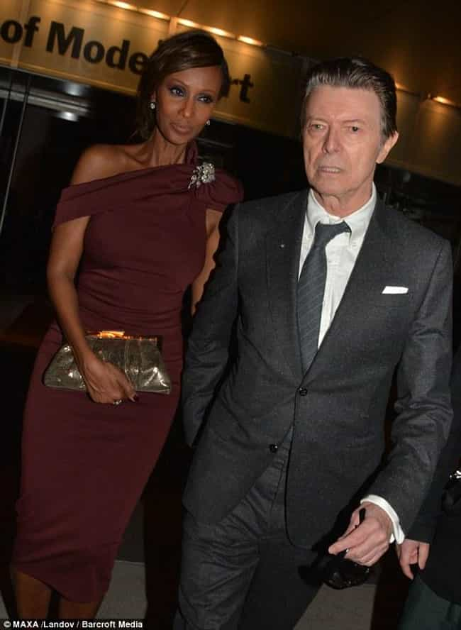 David Bowie is listed (or ranked) 1 on the list Interracial Couples Alert! These Famous White Men Are Married To Black Women
