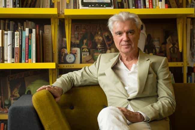 David Byrne is listed (or ranked) 4 on the list Celebrities Who Wear Marc Jacobs