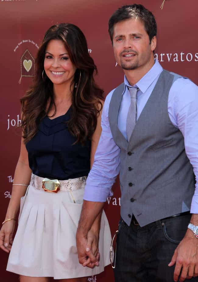 David Charvet is listed (or ranked) 2 on the list All The Famous Men Brooke Burke Has Dated