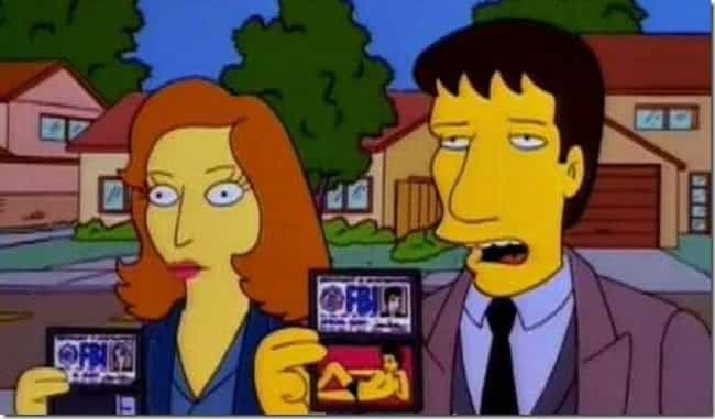 David Duchovny is listed (or ranked) 4 on the list The Greatest Guest Appearances in The Simpsons History