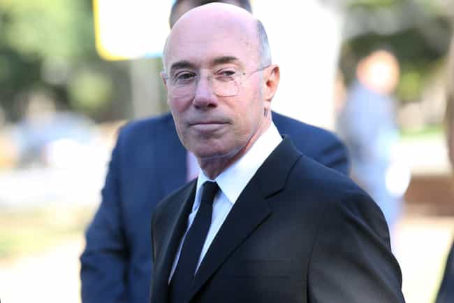 David Geffen is listed (or ranked) 4 on the list Celebrities Who Wear Calvin Klein