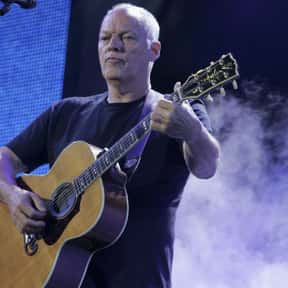 David Gilmour is listed (or ranked) 8 on the list Famous Guitarists from England