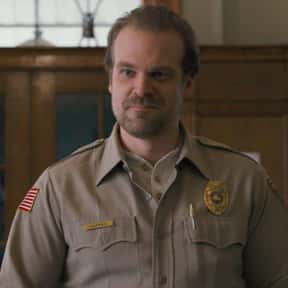 David Harbour, 'Stranger Thing is listed (or ranked) 4 on the list 50 Snubs From The 2020 Emmy Nominations